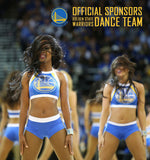 Warriors Dance Team Sponsor, 3 Years Strong