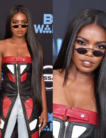 Ryan Destiny at the BET Awards