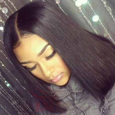 Natural Hair Parting Perfection with Closure Pieces