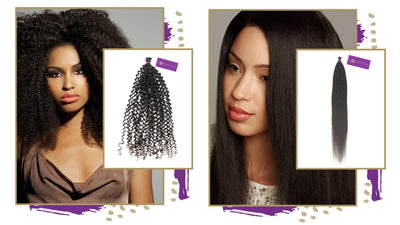 Say Hello to Gorgeous Fusion I-Tips for Textured Hair
