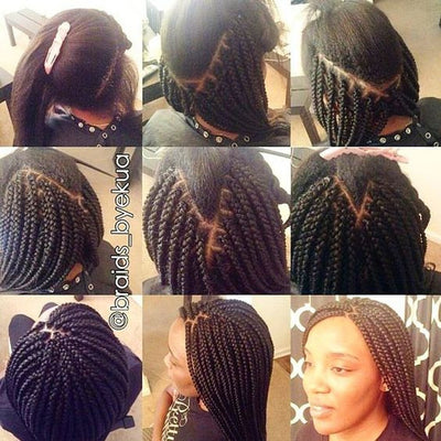 Learn how to Box Braid - Quick How to Tutorial