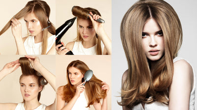 How to Give Yourself a Perfect Blowout at Home