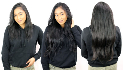 How To Install Clip-In Extensions On Natural Hair