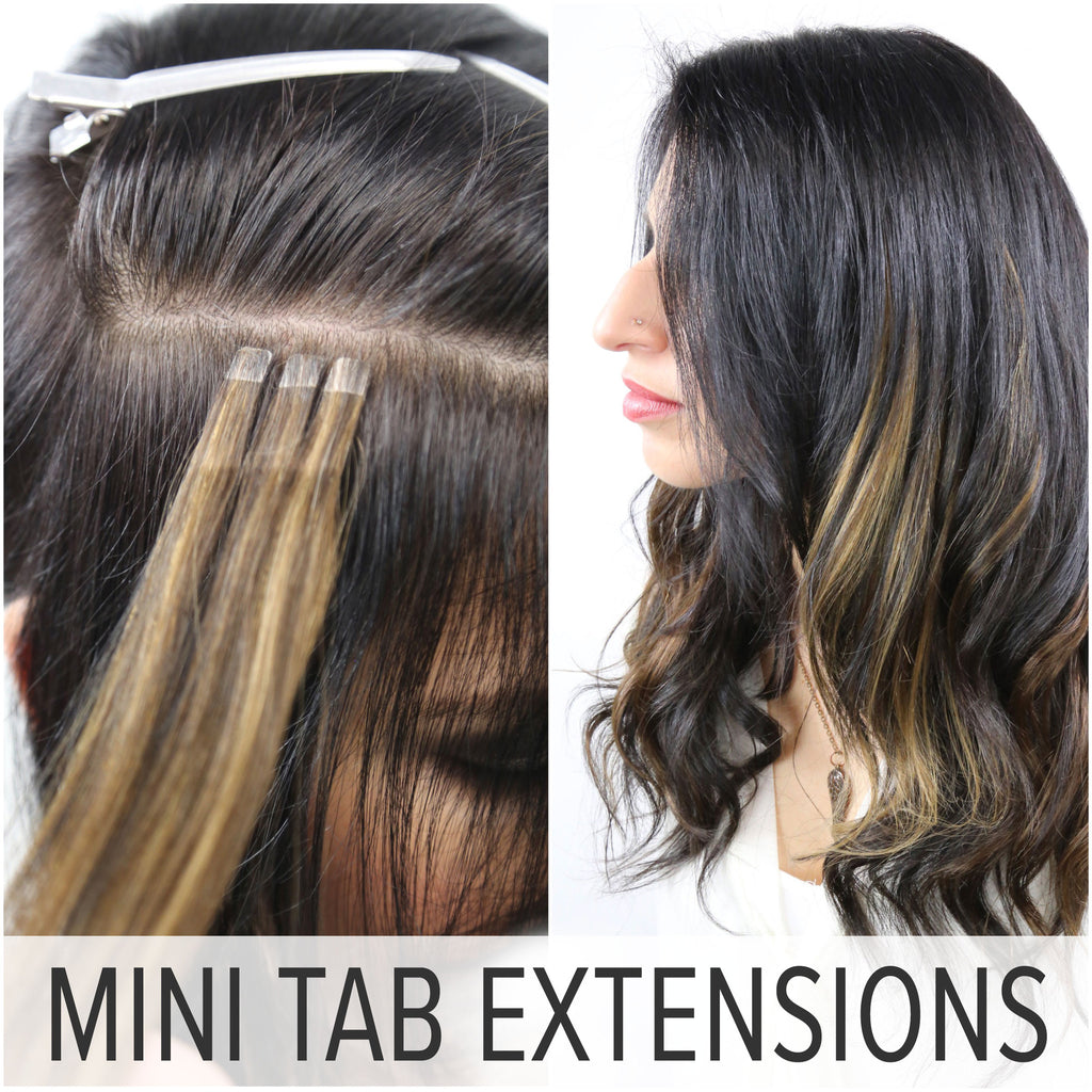 Tab hair extensions images hair extension hair highlights ideas three reasons to invest in mini tabs and easy tabs pmusecretfo images pmusecretfo Choice Image