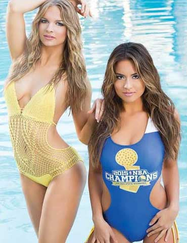 Warriors Dance Team 2016 Swimsuit Calendar