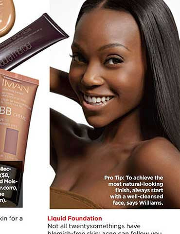 "Essence Magazine ""Ageless Beauty"" Feature"