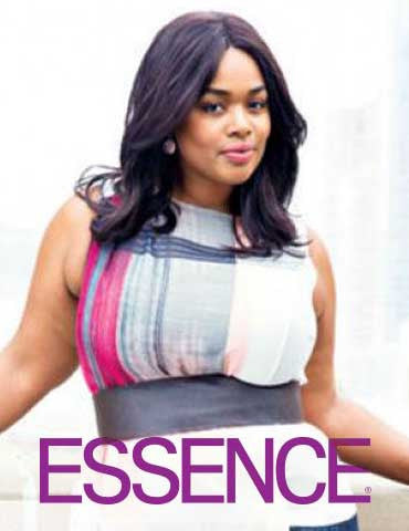 Essence Magazine Spread with Precious Lee