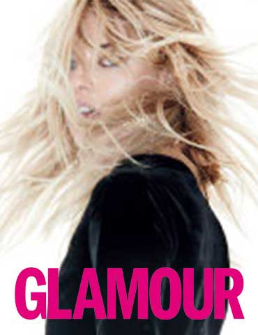 Glamour Magazine 12 Page Spread