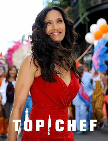 Padma Lakshmi in Top Chef Promo