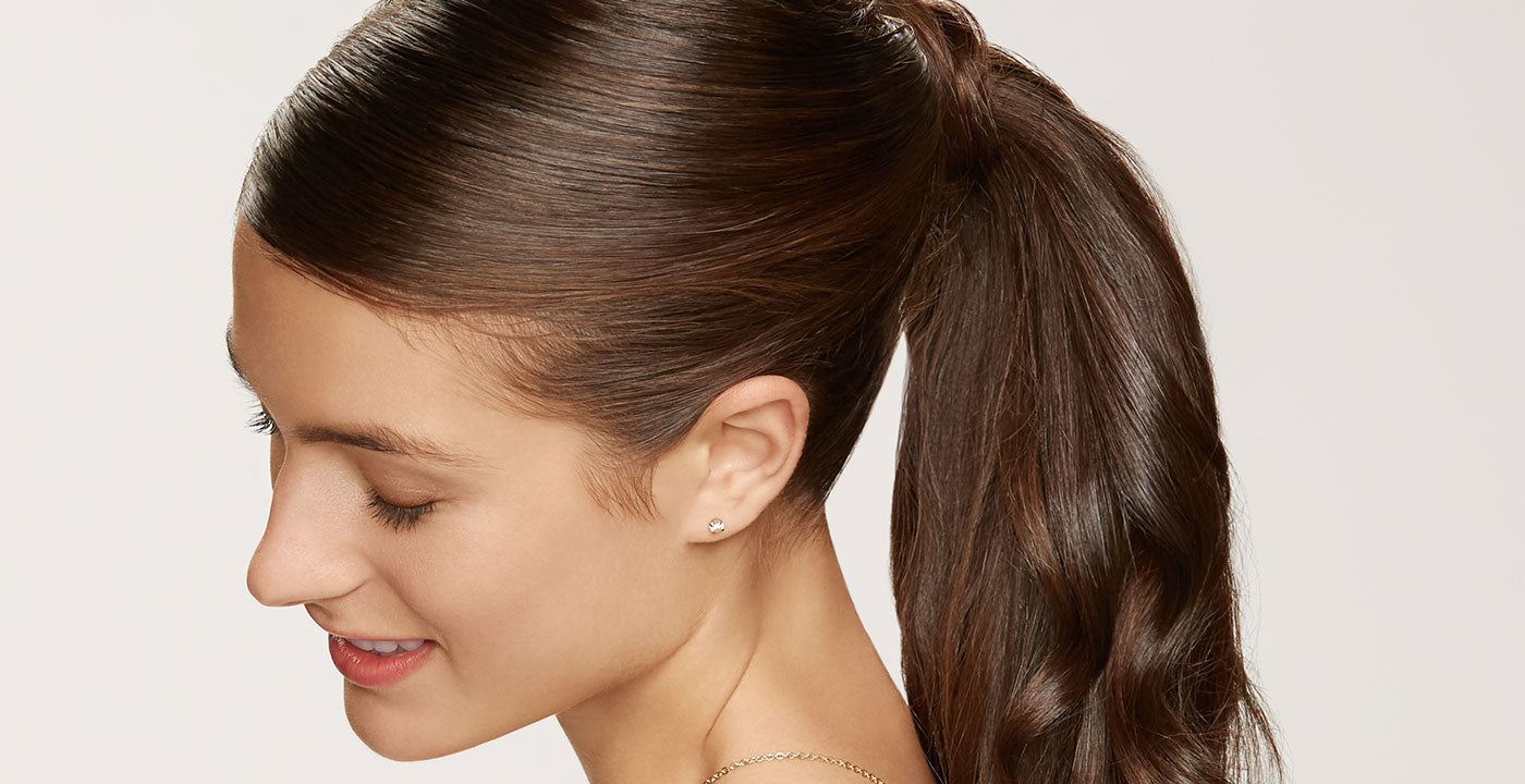 brown ponytail extensions