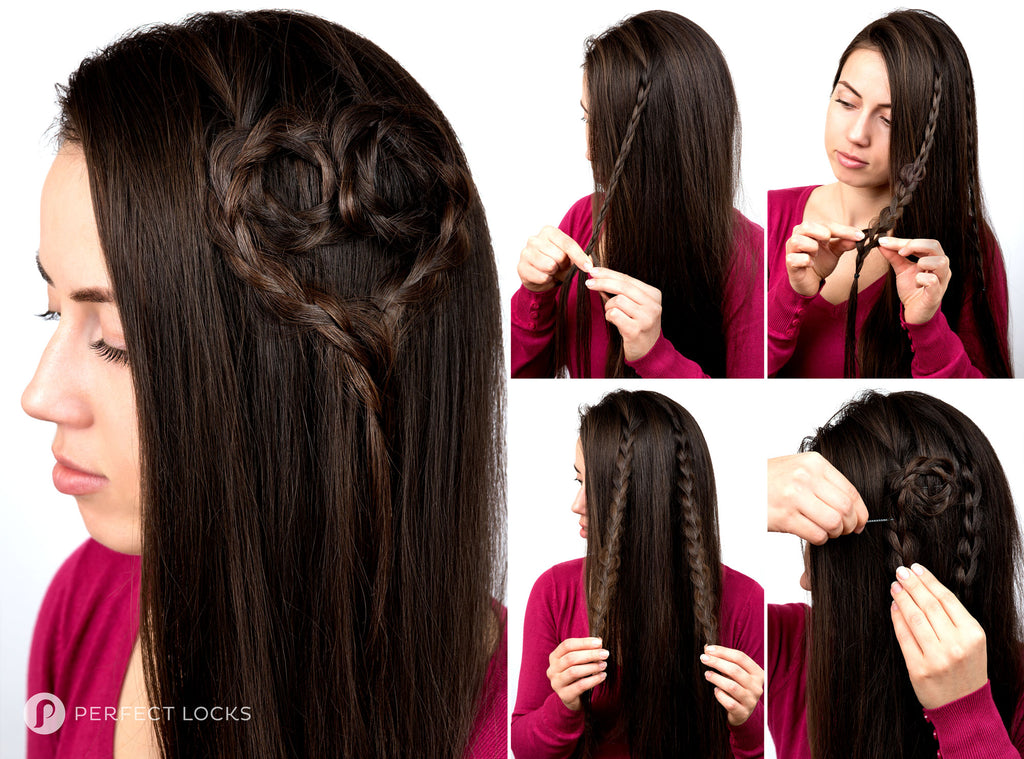 hairstyles with hair extensions