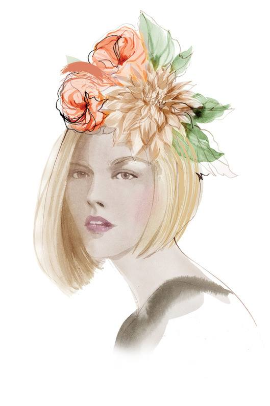 Dahlias with a Modern Bob