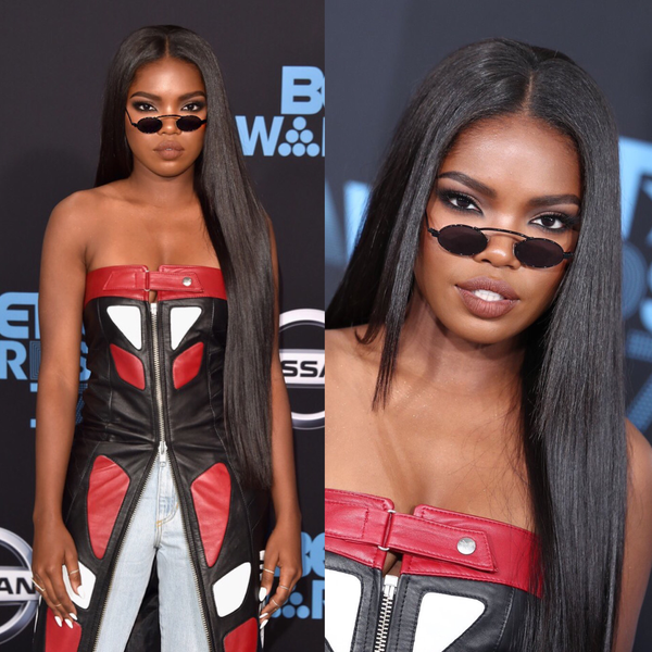 Ryan Destiny at BET awards