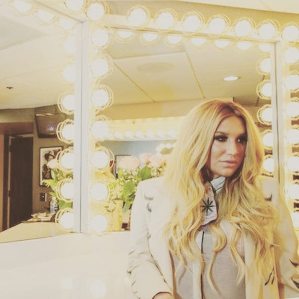 kesha long hair