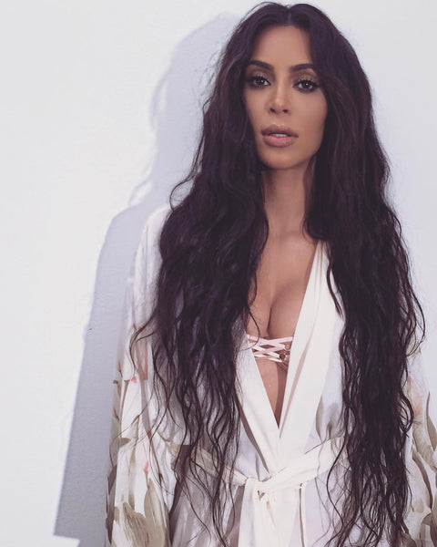kim kardashian mermaid hair