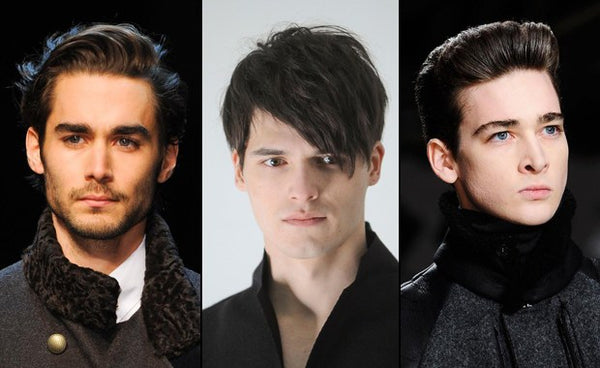 oval hairstyles for men