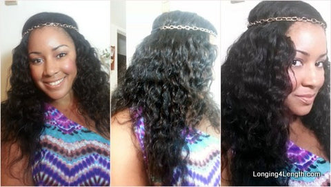 curly perfect locks weave