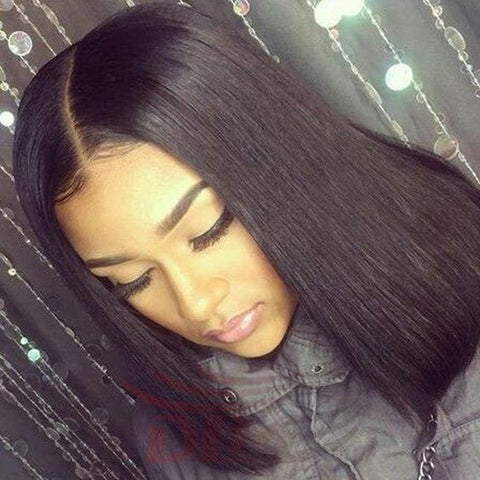 middle part sew-in weave