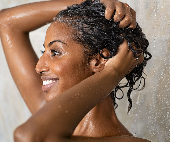 washing hair for protective hairstyles