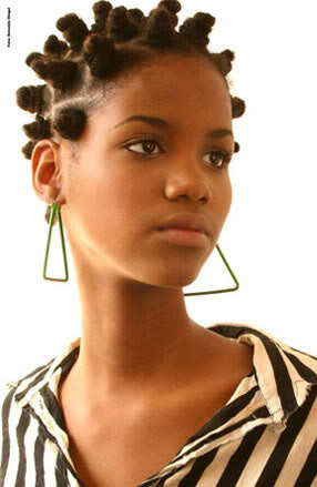 bantu knots tutorial