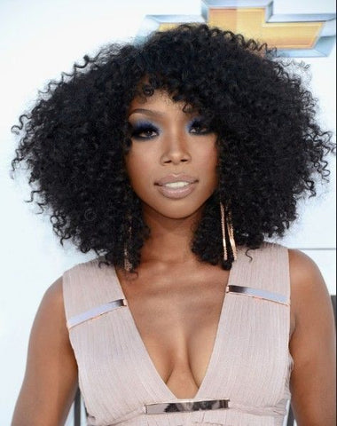 brandy kinky curly hair