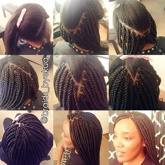 box braids step by step