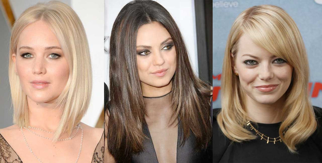 celebrities with fine hair