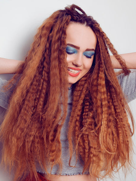 crimping hairstyle is in trend