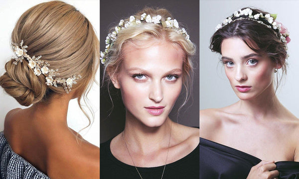 floral hair trends for brides