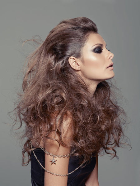 volume with hair extensions