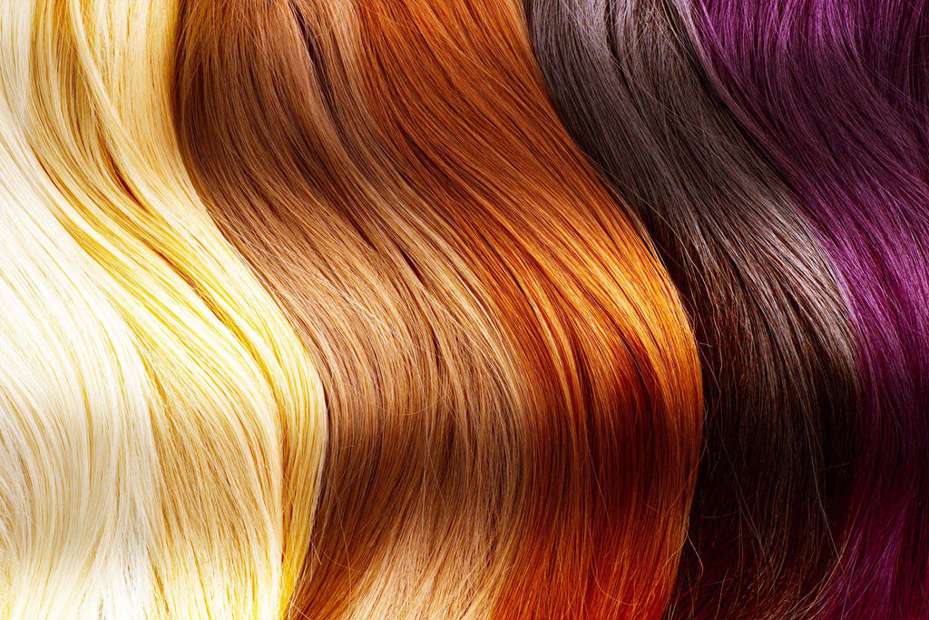 hair color and pigment process