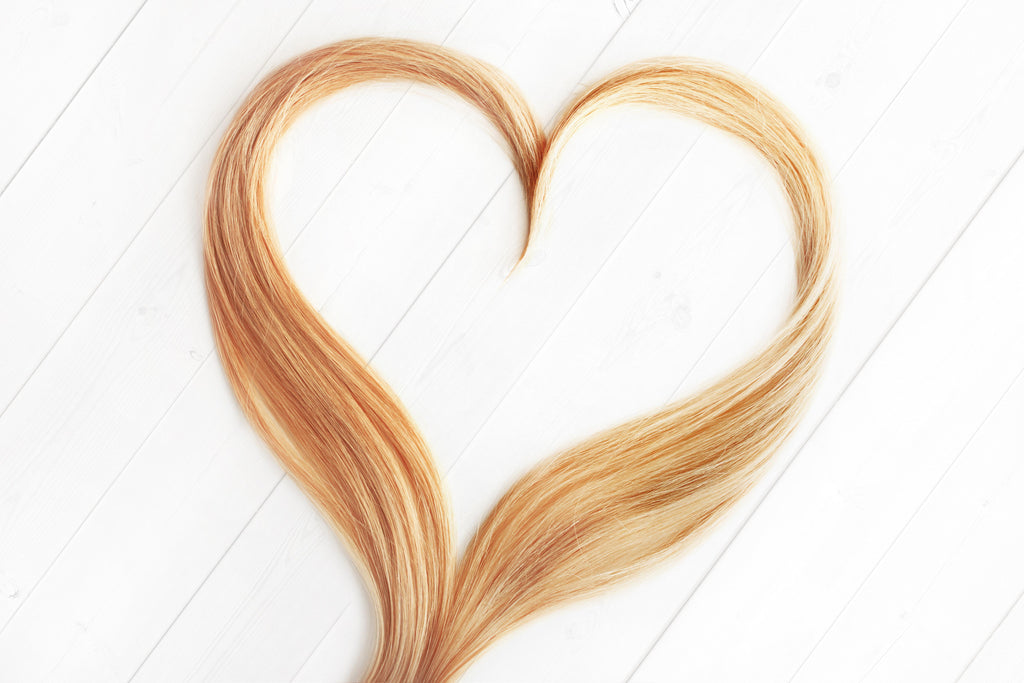 a healthy heart is good for hair