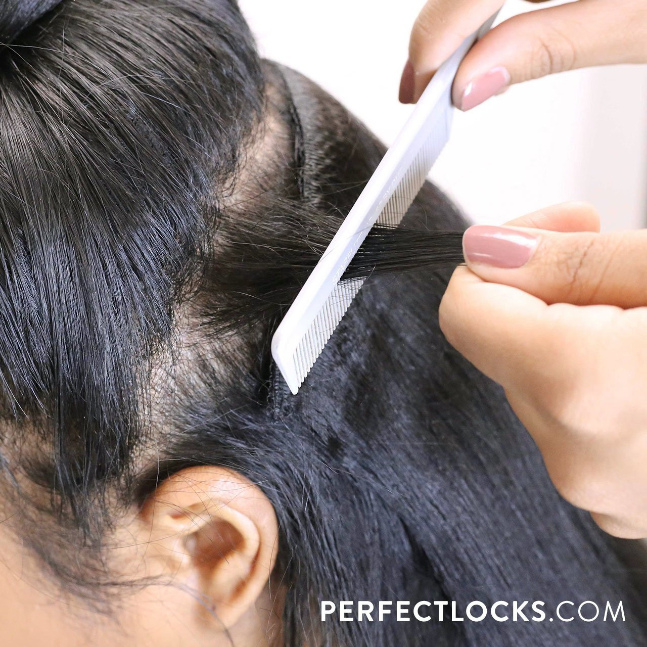 How To Install Clip In Extensions On Natural Hair