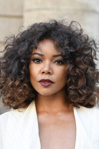 gabby union short curly hair