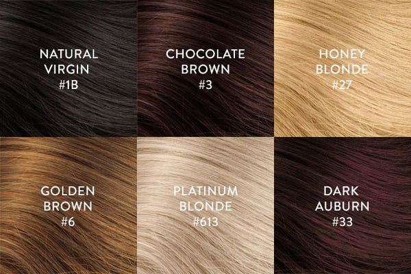Hair Extension Color Chart Perfect Locks