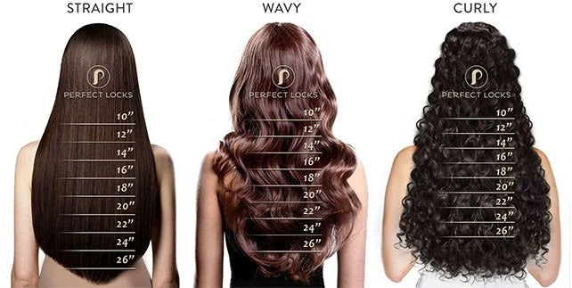 how to measure hair extensions
