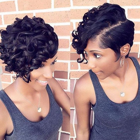 pixi cut with curls