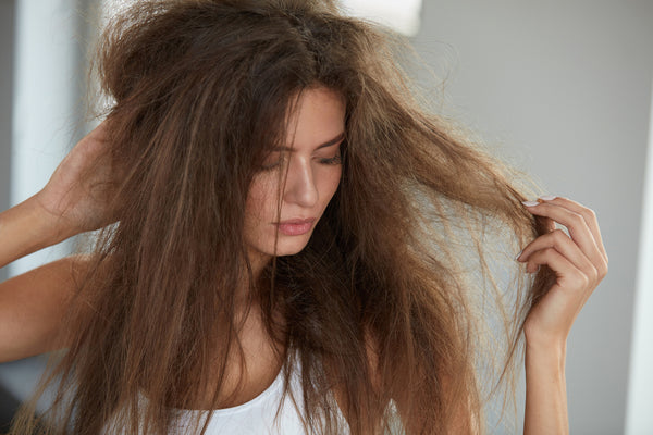 frizzy hair during winter