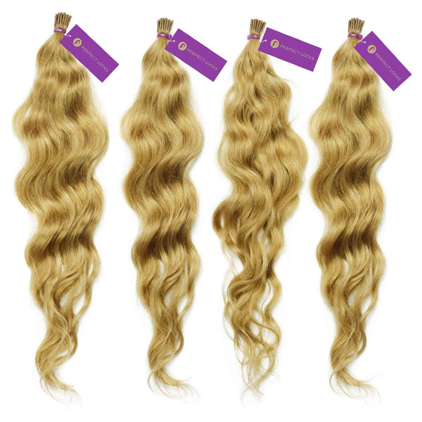 Curly Fusion I-Tip Hair Extension Bundle Deal