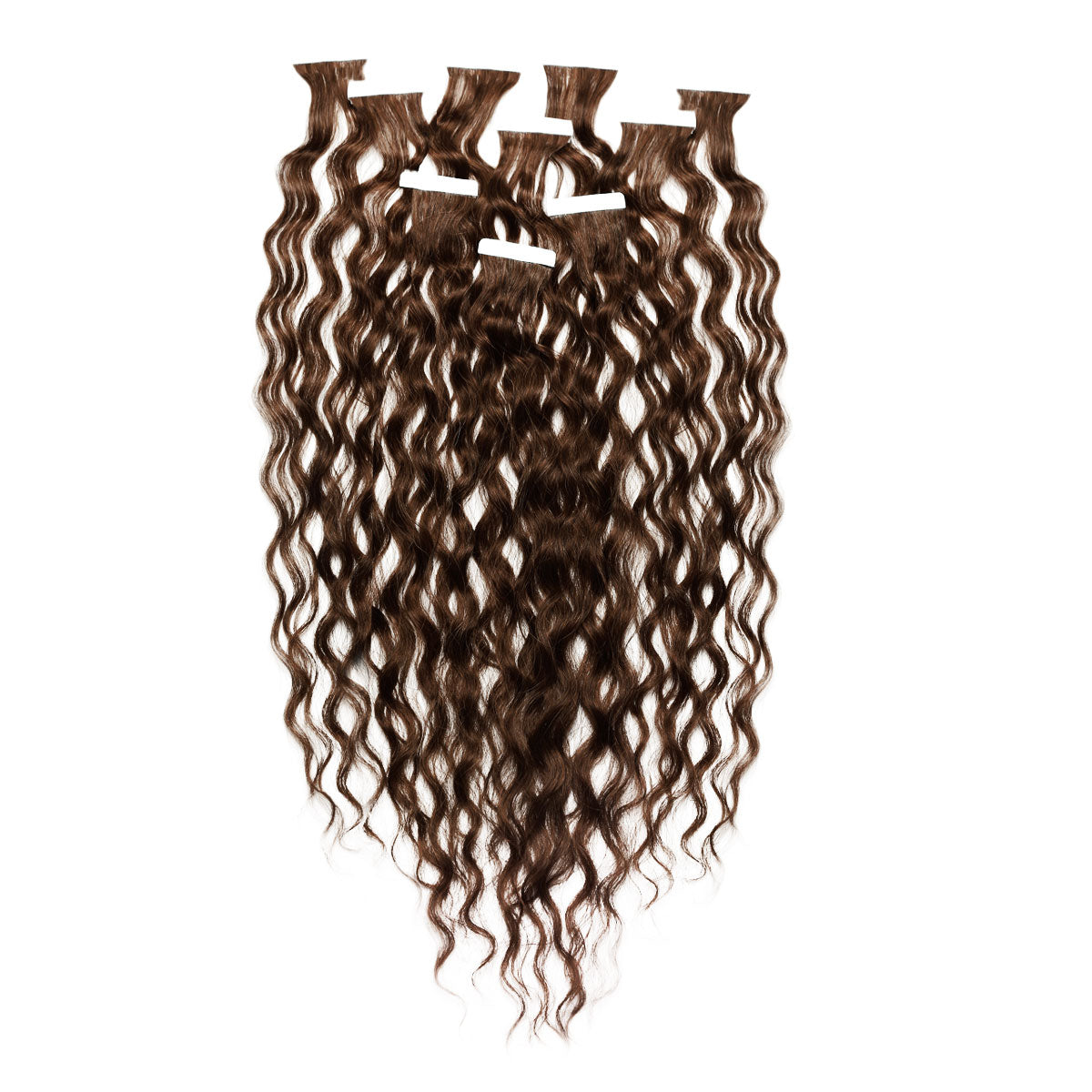 Curly Tape In Hair Extensions 100 Human Hair Perfect Locks