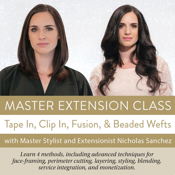 Hair Extension Master Class