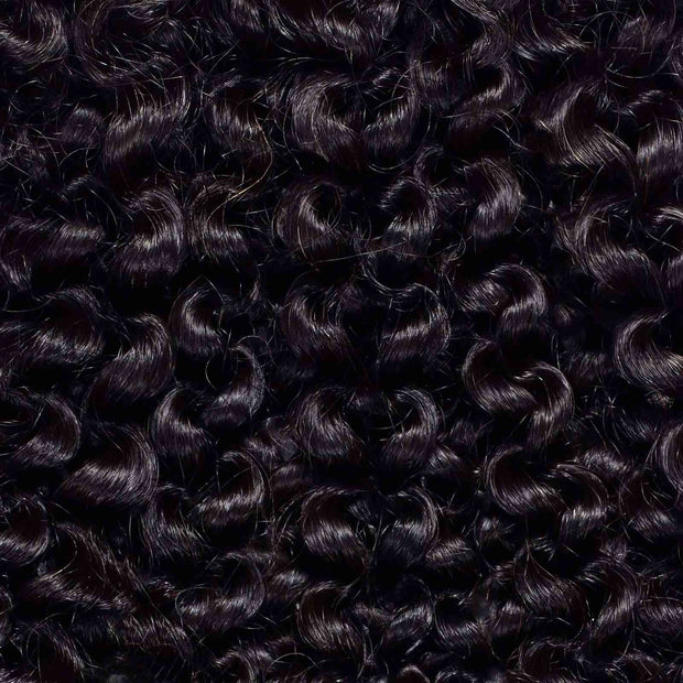 3 x Kinky Curly Steam Permed Weave Bundle Deal