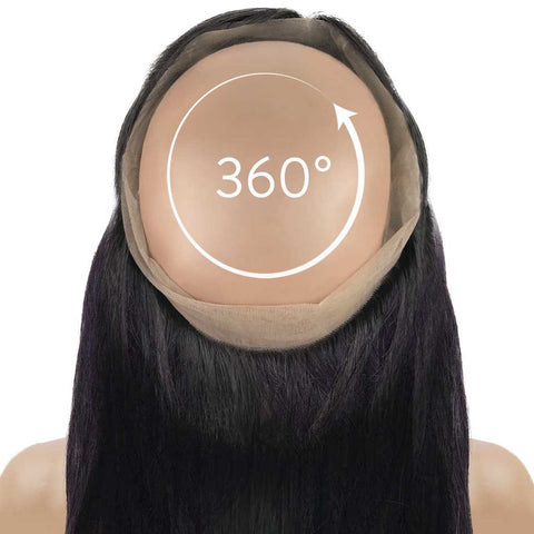 Straight 360° Lace Frontal