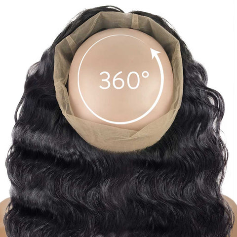 Wavy 360° Lace Frontal