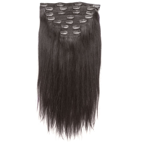 Clip In Hair Extension Sets Clip On Hair Extensions Perfect Locks