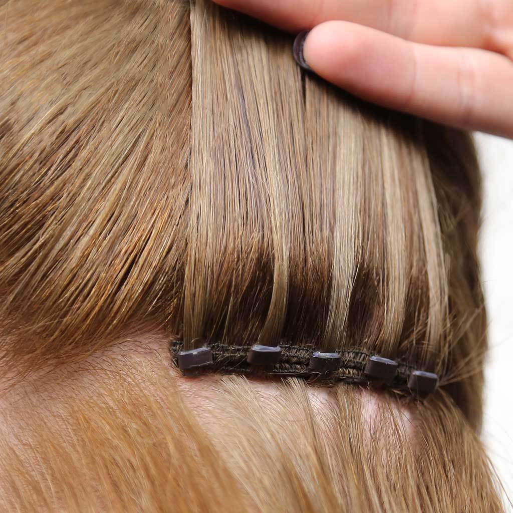 Straight Beaded Weft Extensions Perfect Locks