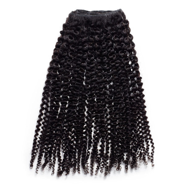 Kinky Curly Steam Permed Weave