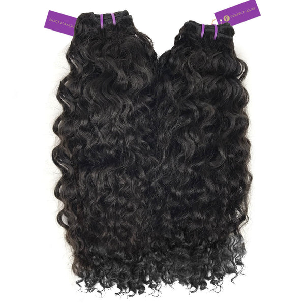 2 x Curly Virgin Weave Bundle Deal
