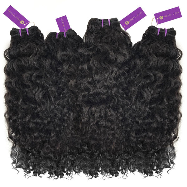 4 x Curly Virgin Weave Bundle Deal
