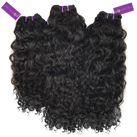 3 x Curly Virgin Weave Bundle Deal